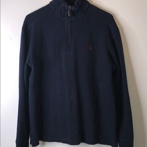 Ralph Lauren Polo Quarter Zip Sweater